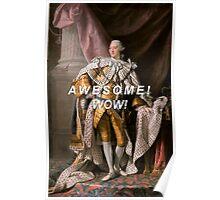king george iii Poster