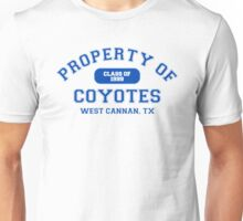 Property of West Canaan Coyotes Unisex T-Shirt