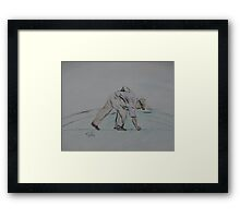 """""""Placement""""  by Carter L. Shepard Framed Print"""