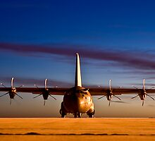RAF C130 (Hercules) by SwampDogPhoto