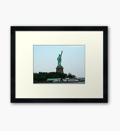 Statue Cruises Framed Print