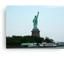 Statue Cruises Canvas Print