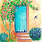 The blue door... by karina73020