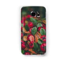 Tiny Winter Berries Samsung Galaxy Case/Skin