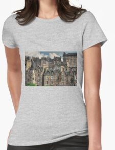 Tenements Womens Fitted T-Shirt