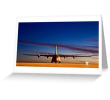 RAF C130 (Hercules) Greeting Card