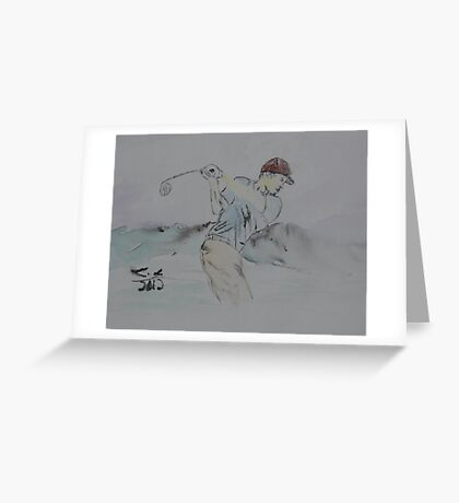 """""""The Drive""""  by Carter L. Shepard Greeting Card"""
