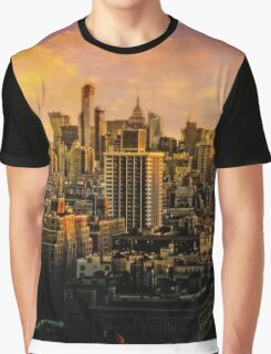 Gotham Sunset Graphic T-Shirt