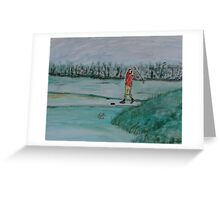 """""""The Range""""  by Carter L. Shepard Greeting Card"""