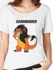 Scarmander Women's Relaxed Fit T-Shirt