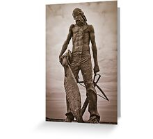 The Ancient Mariner (with Albatross) Greeting Card