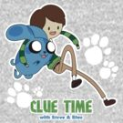 Clue Time with Steve & Blue by JimHiro