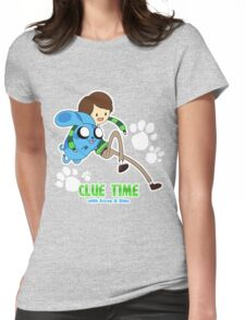 Clue Time with Steve & Blue Womens Fitted T-Shirt