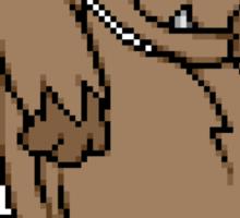 8-Bit Mutley Sticker