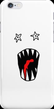 Monster Mashup iPhone Case 3 by bradwoodgate