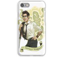 Pacific Rim - Dr. Newt iPhone Case/Skin