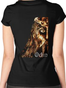 ODIN All Father t-shirt Women's Fitted Scoop T-Shirt
