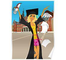 congratulations, graduation Poster