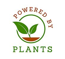 Powered by plants by Stock Image Folio