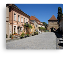 Iphofen, Franconia, Bavaria, Germany. Canvas Print