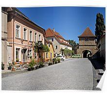 Iphofen, Franconia, Bavaria, Germany. Poster