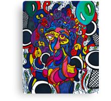 Balloon Girl Shoots Heroin Canvas Print