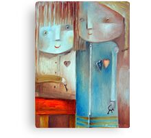 Friend From The Heart Canvas Print