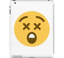 astonished face emoji iPad Case/Skin