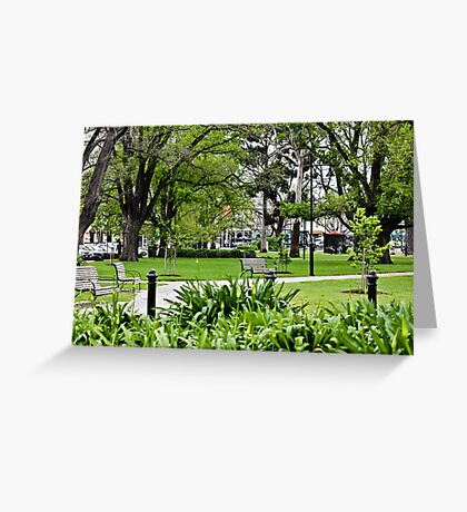 Commonwealth Reserve  Greeting Card