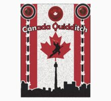 Canada Quidditch Kids Clothes