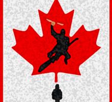 Canada Quidditch Sticker