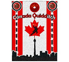 Canada Quidditch Photographic Print