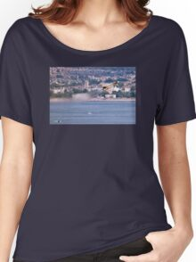 Typhoon Passing Exmouth - Dawlish Air Show 2015 Women's Relaxed Fit T-Shirt