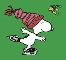 Snoopy Skating Kids Clothes