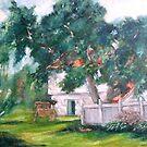 Artist's Backyard by Monica Vanzant