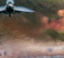 Eurofighter Typhoon - Fast and Low Sticker