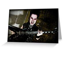 Wayne Static Greeting Card