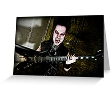 Wayne Static Greeting Card