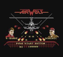 Pixel Airwolf Kids Clothes