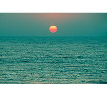 Sunset on the Green Planet Photographic Print