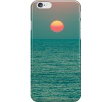 Sunset on the Green Planet iPhone Case/Skin