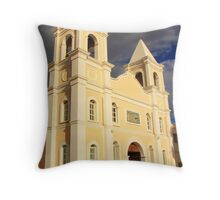 Mission in San Jose Del Cabo Throw Pillow