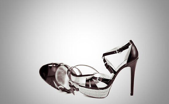 Stilettos (B/W) by Anaa