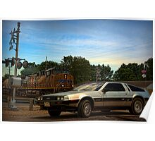 """""""Back to the Future"""" Final Scene Poster"""