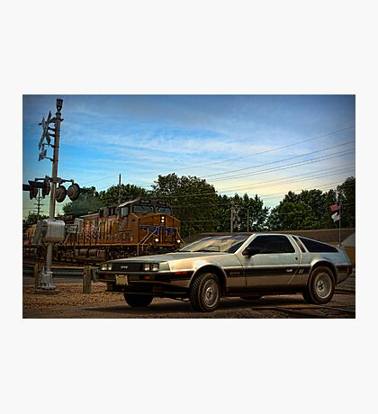 """Back to the Future"" Final Scene Photographic Print"