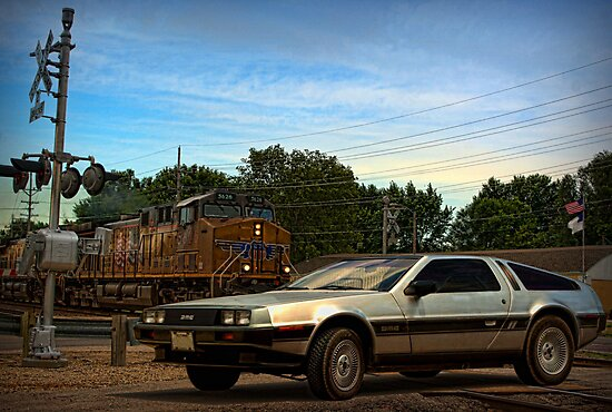 """""""Back to the Future"""" Final Scene by TeeMack"""