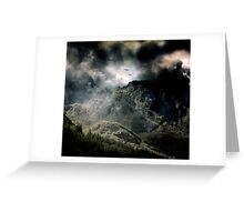 Two Weathered Flying. Greeting Card