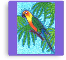 Ronnell's Parrot Canvas Print