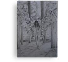 Swinging Angel Canvas Print