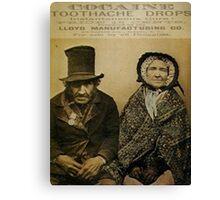 Mother Jones Has A Toothache Canvas Print